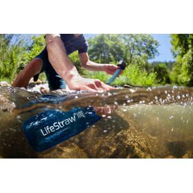 LifeStraw Go 2-Stage Trinkflasche mit Wasserfilter blue